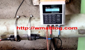 Prinsip Ultrasonic Flow Meter