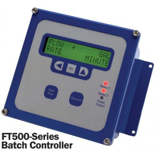 Batch Control Low Velocity Flow Meter 1 Inch SPT-100 + FT520