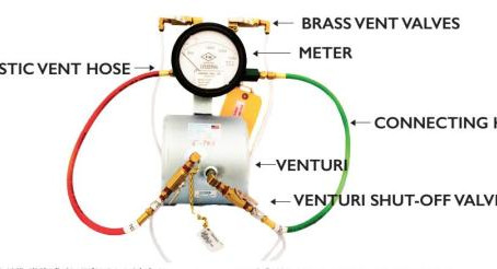 Flow meter sistem / pompa pemadam Kebakaran
