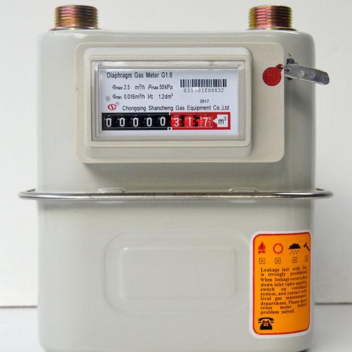 Gas Meter Shancheng G 2.5