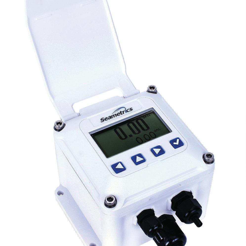 Electromagnetic Flow Meter low flow 3/4 Inch PE202-75 + FT440W