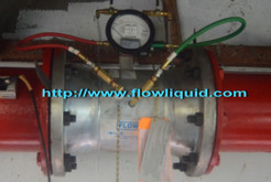 Gerand Pump test Flow Meter