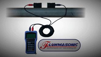 Flowmasonic WUF100J Portable Flow Meter