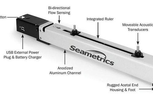 Portable Ultrasonic Flowmeter Seametric jWAVE