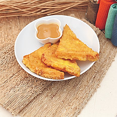 French Toast with Peanut Butter 西多士