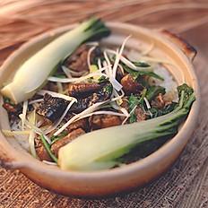 Sea Eel Clay Pot Rice 黃鱔煲仔飯