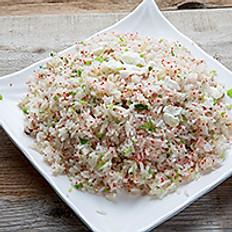 Tobiko Scallop & Ham Fried Rice 明太子炒飯