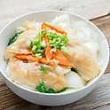 Fish Fillet & Tender Green Rice Noodle Soup 菜遠魚片湯米