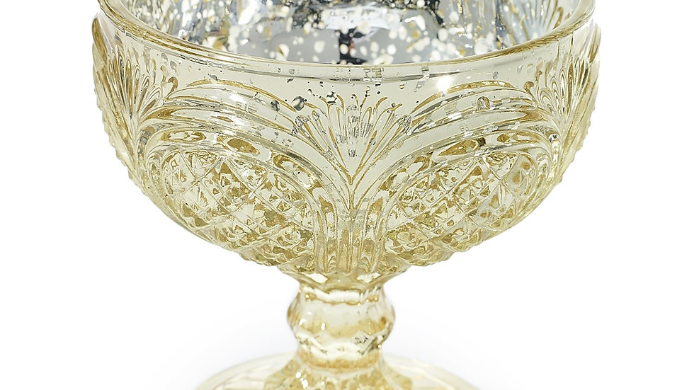 Kingston Mercury Glass Compote