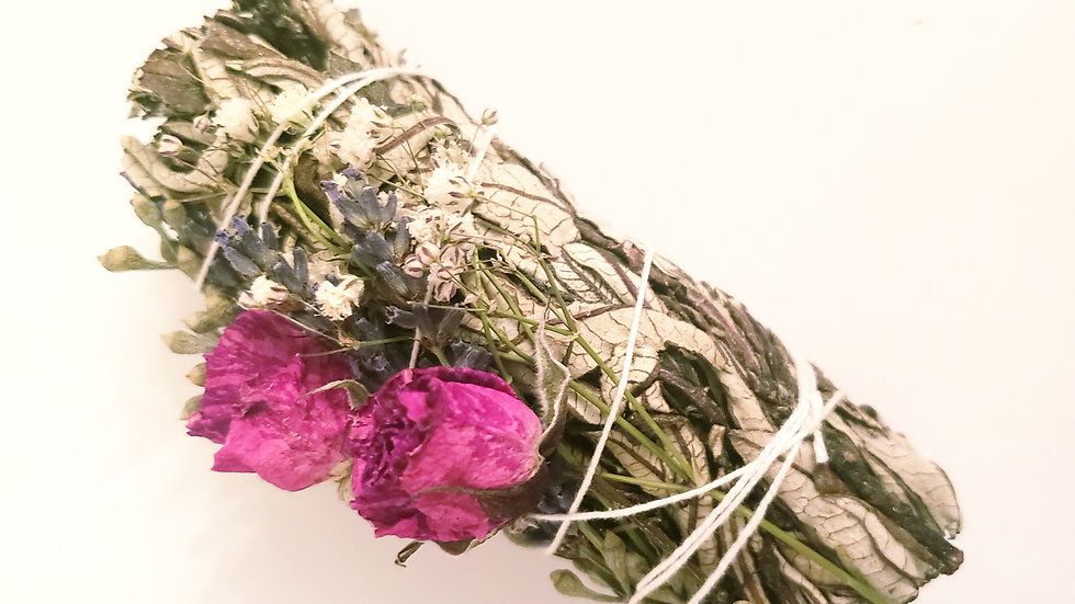 Yerba Santa Floral Smudge Stick
