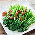 Sautéed Choy Sum with Garlic 蒜子炒油菜心