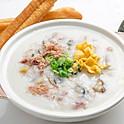 Preserved Egg & Pork Porridge 皮蛋瘦肉粥