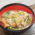 Salted Chicken Leg Lai Fun Soup 鹽焗雞肶湯瀨