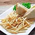 Tuna Sandwich with French Fries 吞拿魚三文治