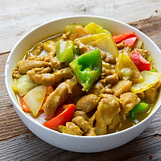 Curry Chicken Noodle Soup 咖哩雞湯麵