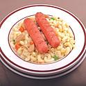 Sausage Macaroni or Ramen 腸仔通粉 / 公仔麵
