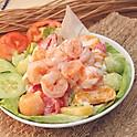 Shrimped & Mixed Fruit Salad 鮮果蝦沙律