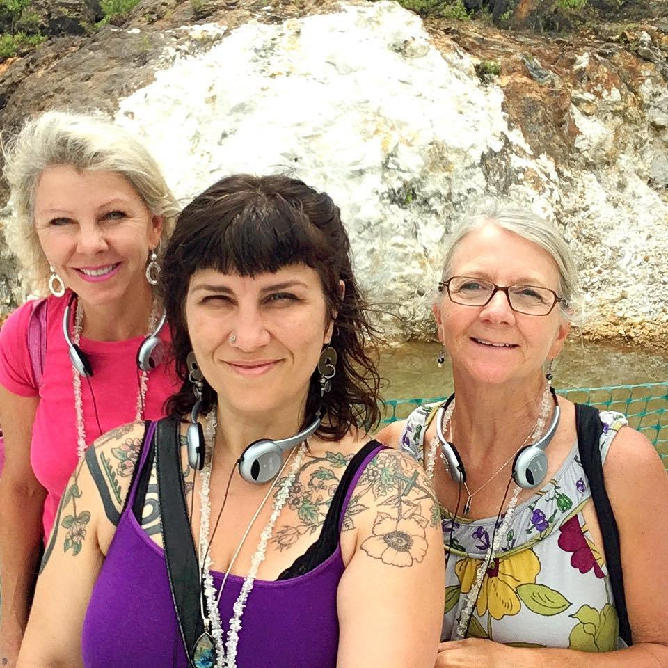 Crystal Adventurers...Mary, Sali & Jane