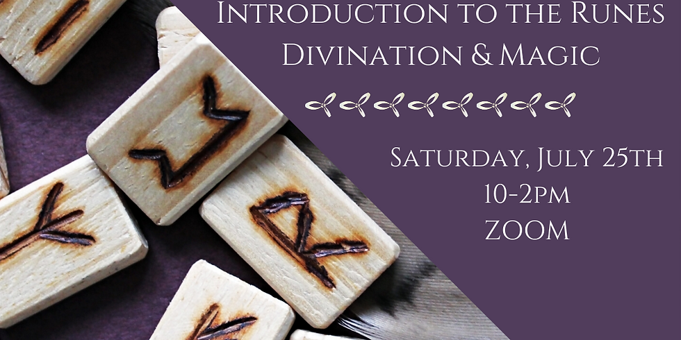 Introduction to the Runes Divination & Magic