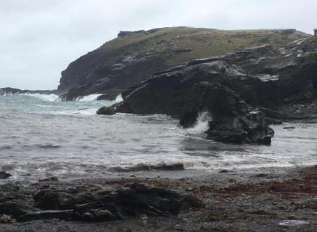 SACRED TRAVELS…Merlin's Cave [part 2…tintagel]