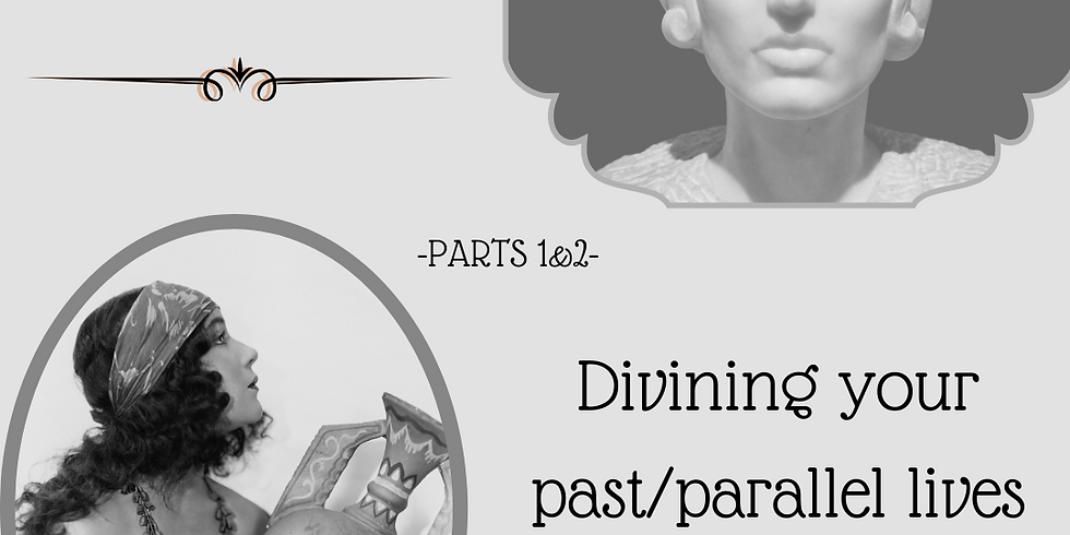 Part 1 & 2 of the Parallel/Past life Immersion