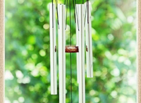 STORIES OF SPIRIT…The Sound of Spirit [wind chimes in the corner]