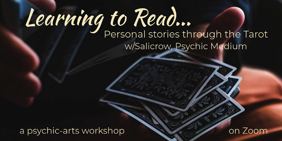 Explore the Tarot, through the ancient art of Storytelling-