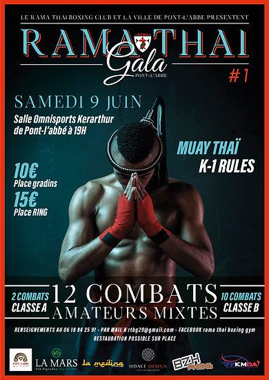 Rama Thaï Boxing Gym de Pont-l'Abbé