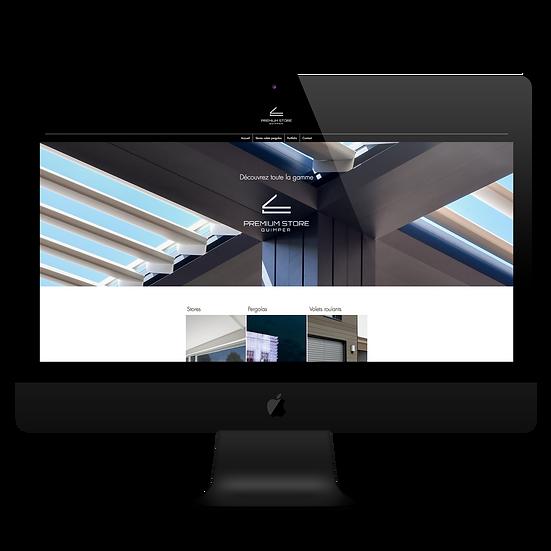 Site web Premium Store