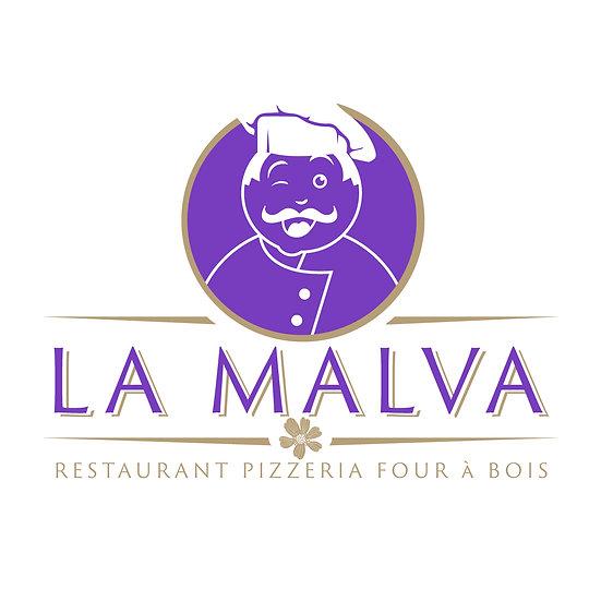 Logo Restaurant la Malva Odace Design
