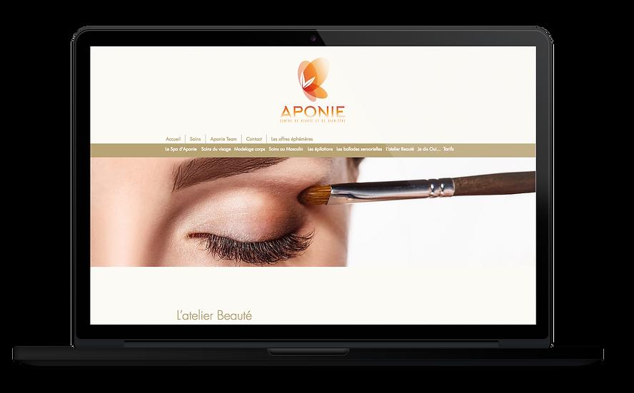 Site web Aponie Odace Design