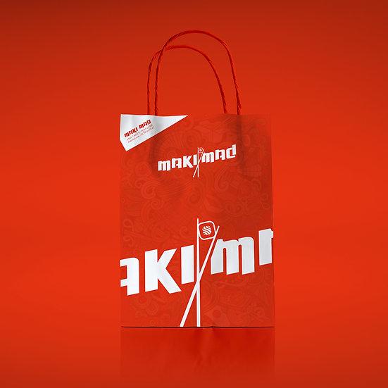 Création d'un sac en papier Kraft
