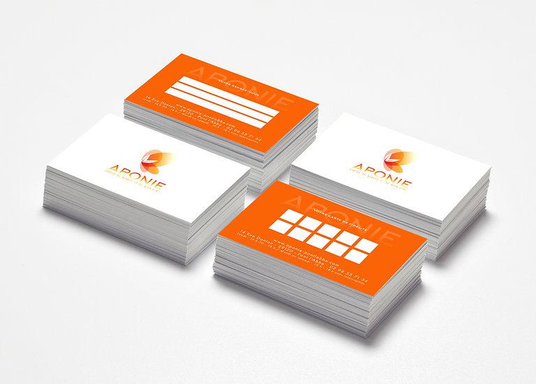 Cartes de fidélité Aponie Odace Design