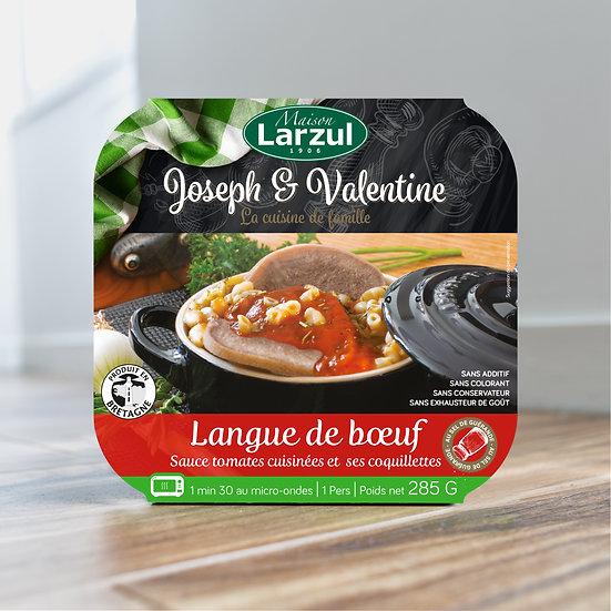LARZUL - Packaging Langue de bœuf sauce tomate
