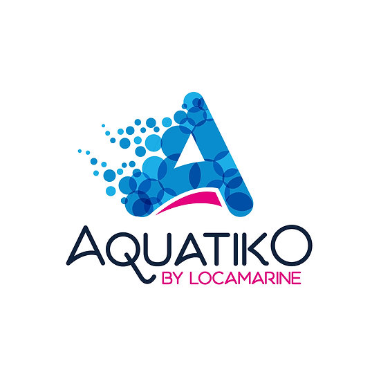 Logo Aquatiko by Locamarine Odace Design