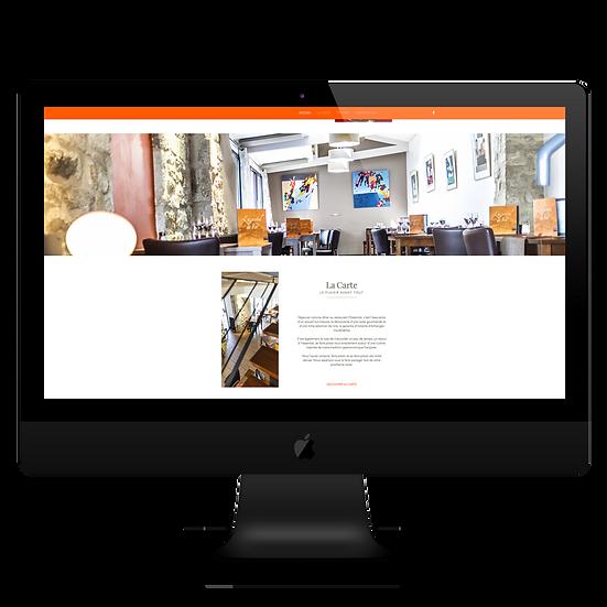 Site Web Restaurant l'essentiel