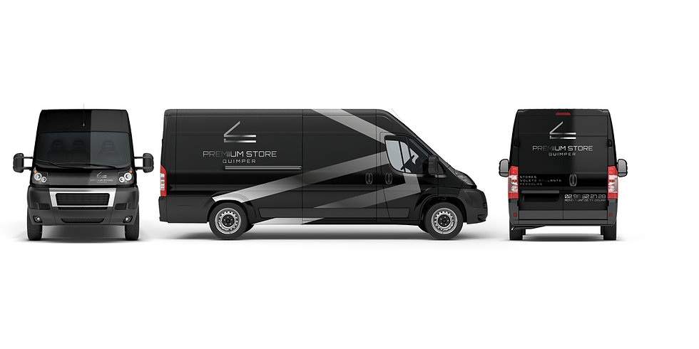 Habillage véhicule Premium Store Odace Design