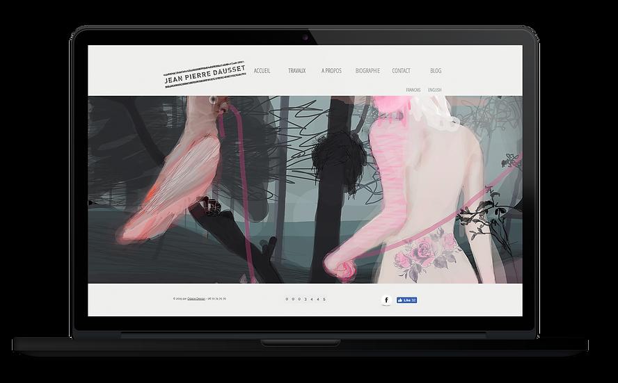 Site web Jean-Pierre DAUSSET Odace Design