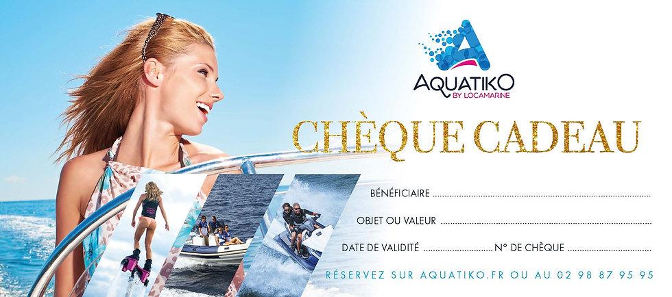 Chèques cadeaux Aquatiko