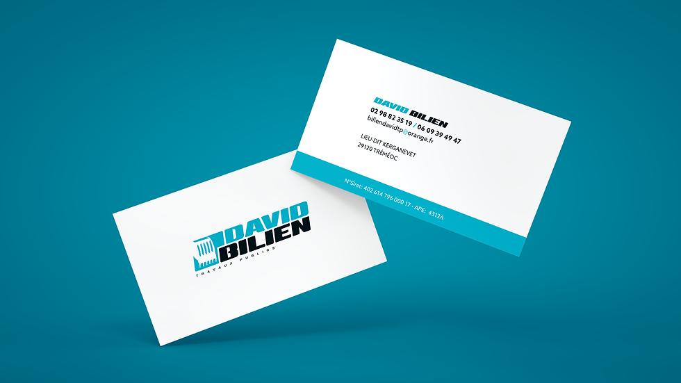 Cartes de visite David Bilien Odace Design