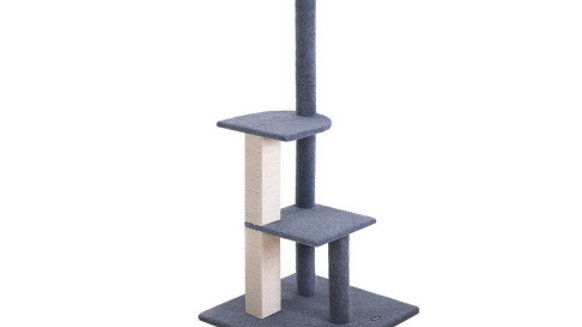 i.Pet Cat Tree 124cm Trees Scratching Post Scratcher Tower Condo House Furniture