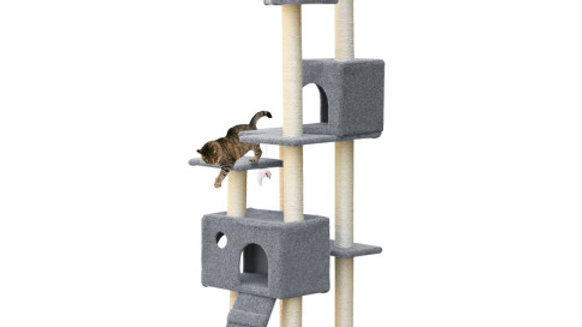 i.Pet Cat Scratching Tree 170CM Scratcher Post Pole Furniture Toy Multi Level
