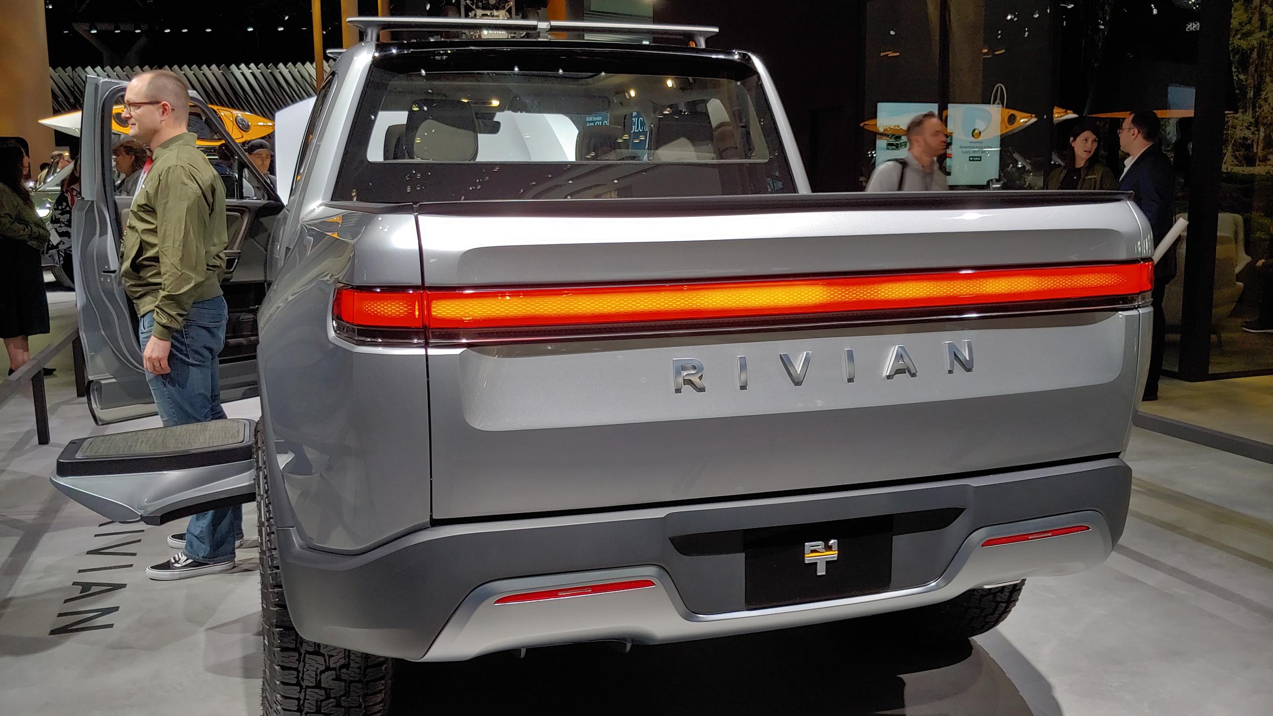 Rivian pickup rear