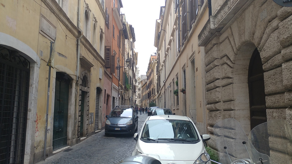 Rome Traffic by John Quain