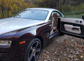 Rolls-Royce Wraith: Driving a $400K Dream Machine