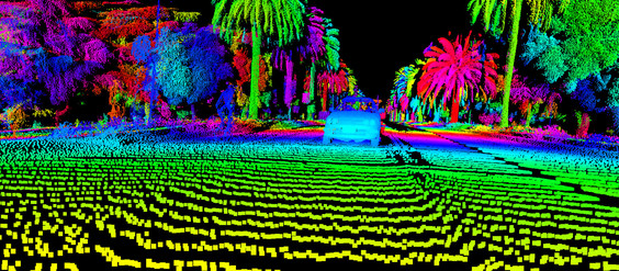 What Self-Driving Cars See