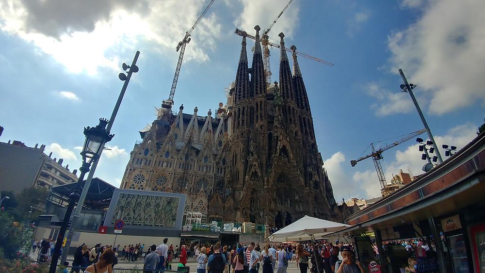 La Sagrada Familia by John R. Quain