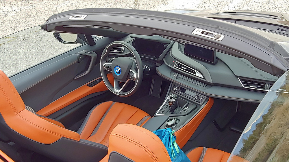 BMW i8 Roadster by John Quain