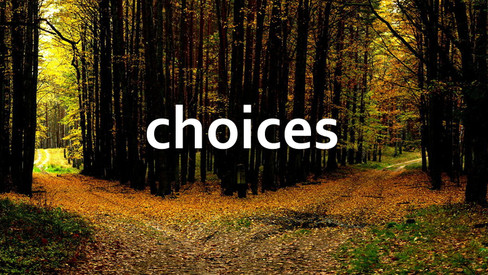 The choices we make today determine who we become tomorrow.