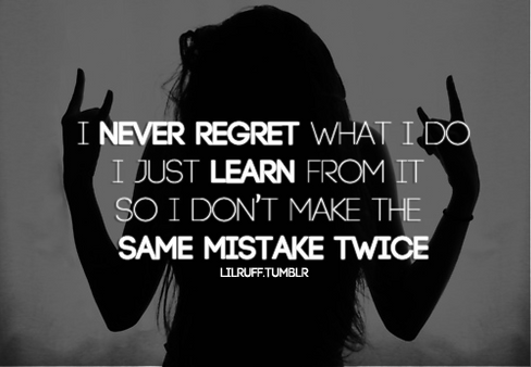 5 STEPS TO PROCESS REGRET POSITIVELY
